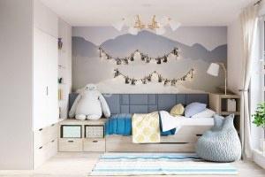 Интерьер и оборудование детской комнаты