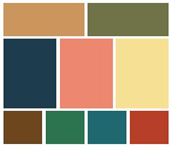 цвет интерьера