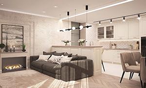 Кухня и гостиная: объединяем зоны правильно