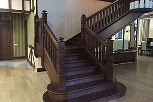 Эксклюзивные деревянные лестницы